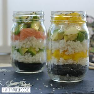 recipe sushi jar