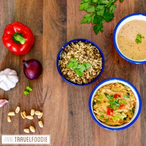 vegan peanut butter curry instagram