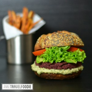 vegan red beet burger recipe