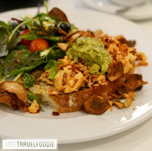scrambled tofu at Ottolenghi London