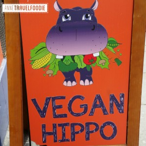 vegan hippo London, vegan deli and take away