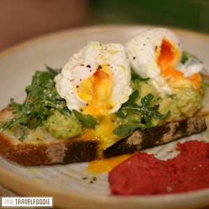 vegetarian brunch at the Attendant London
