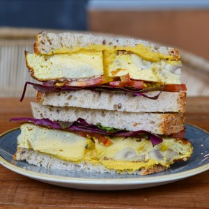 vegetarian sandwich mylk plantbased amsterdam