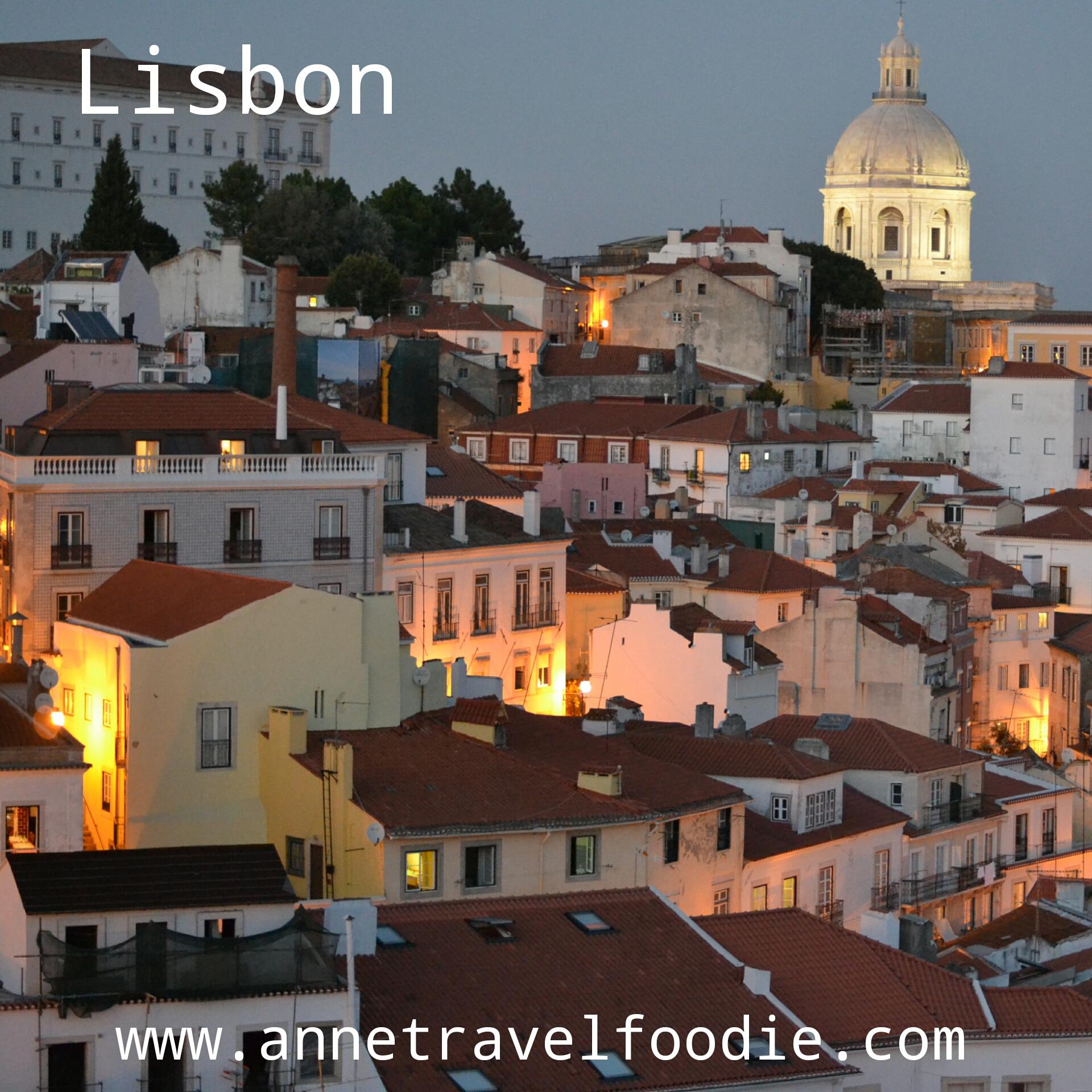 Lisbon Annetravelfoodie