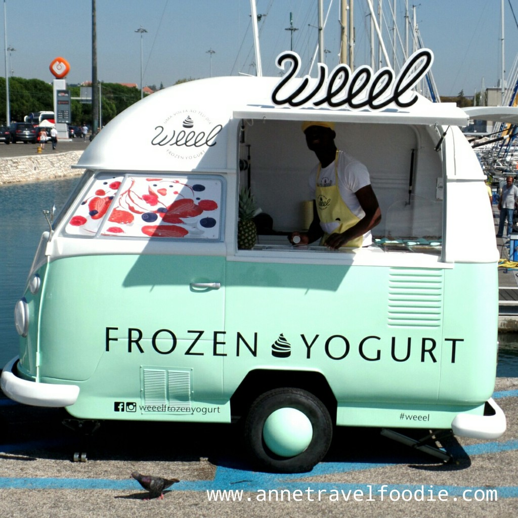 weeel frozen yogurt Lisbon