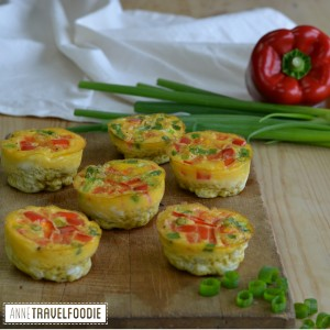 healthy omelet muffins