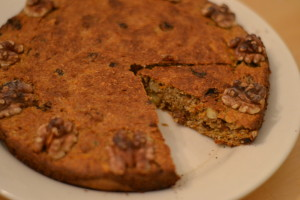 Healthy carrot cake Annetravelfoodie
