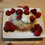 Rasberry mugcake