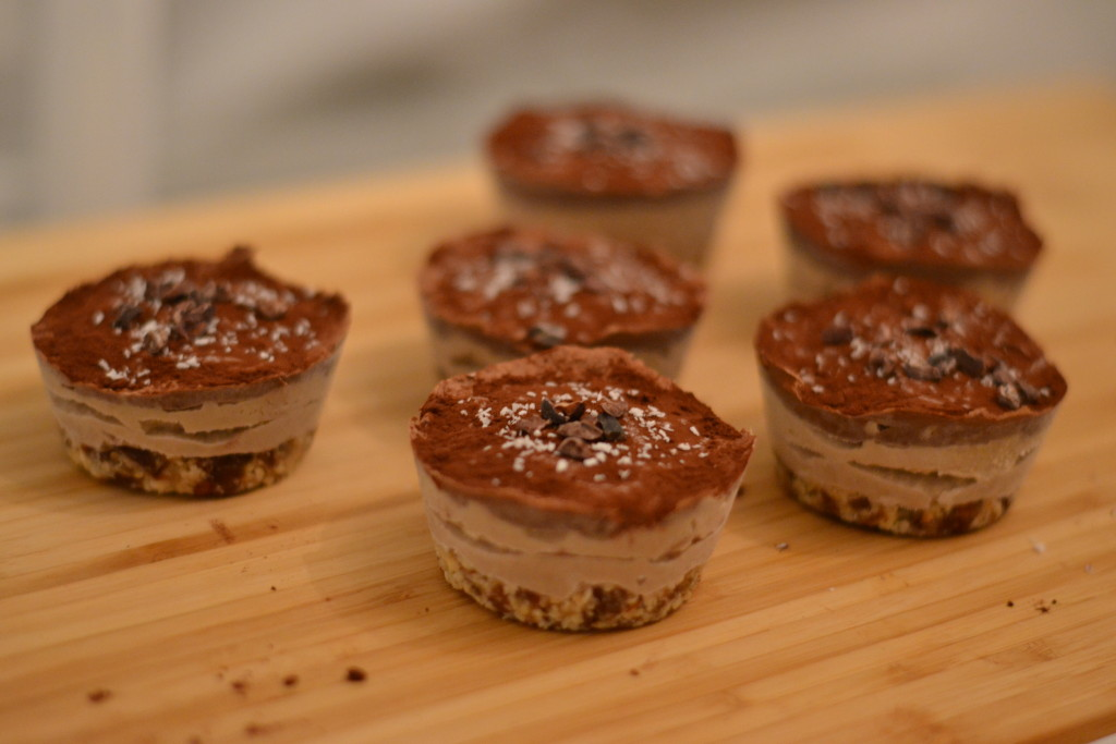 banana tahini chocolate cupcakes