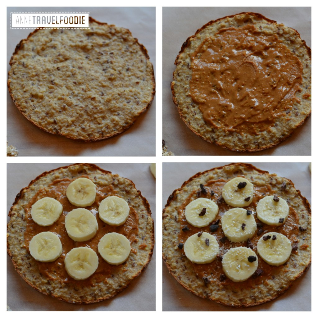 Oatmeal pizza recipe