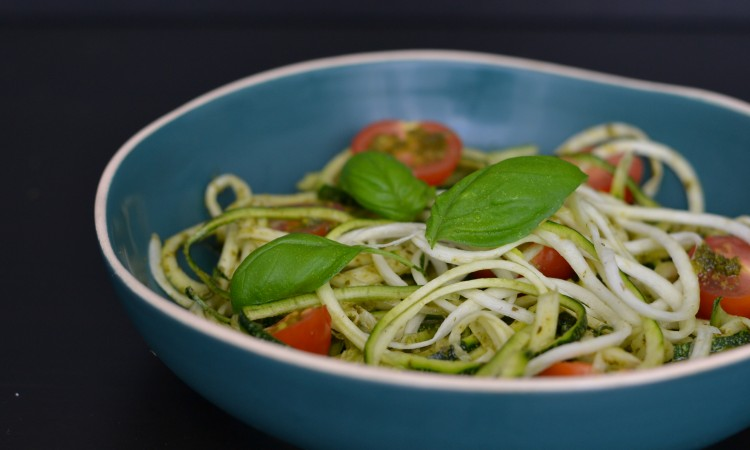 courgetti recipe pesto