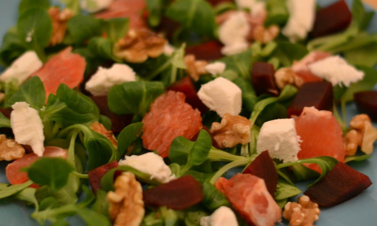 recipe goat cheese red beet salad