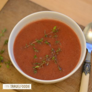 vegan red beet soup