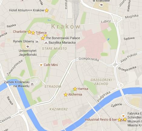 hotspots krakow