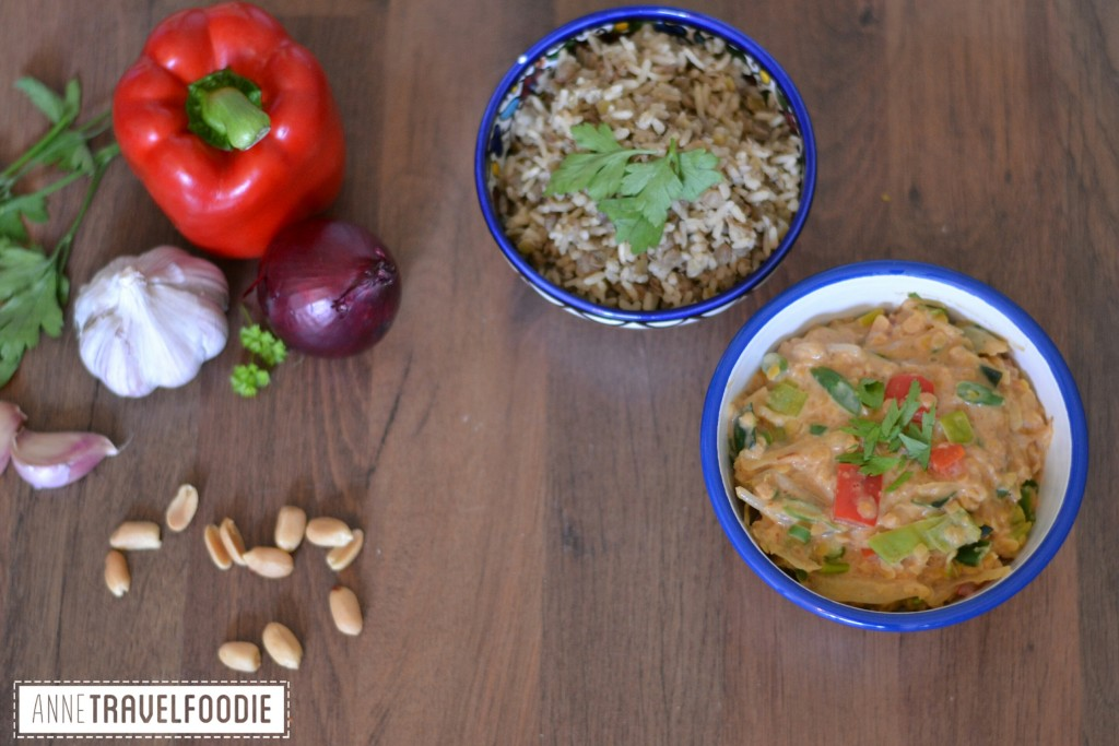 vegan peanutbutter curry