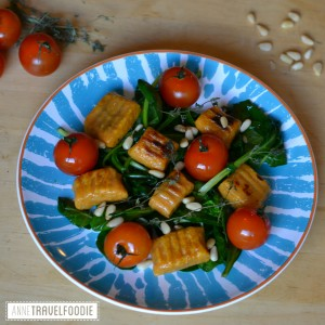 sweet potato gnocchi dinner