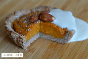 vegan sweet potato pie alpro