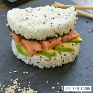 instagram sushi burger