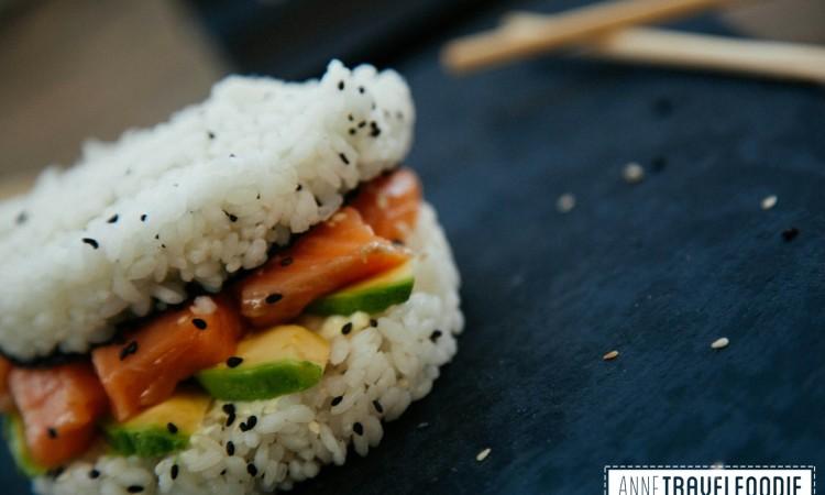 recipe sushi burger