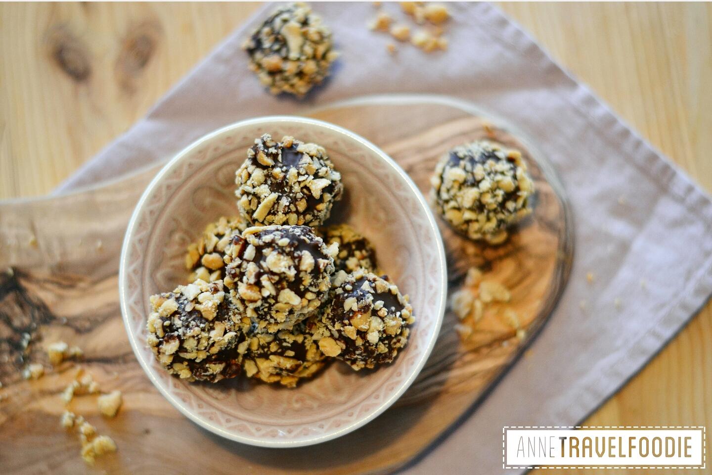 healthy snicker balls recipes