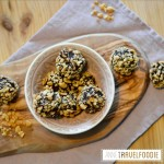 vegan snicker balls