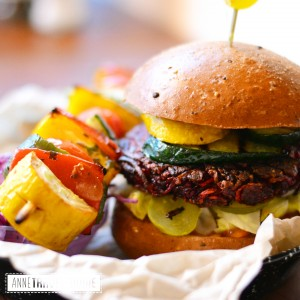 4 soulburger, best veggie burger of Amsterdam