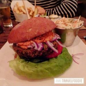9 Thrill Grill, best veggie burger of Amsterdam