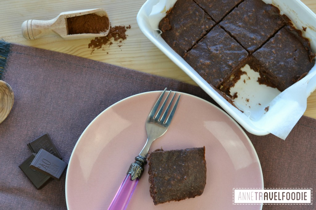 easy and healthy vegan brownies annetravelfoodie