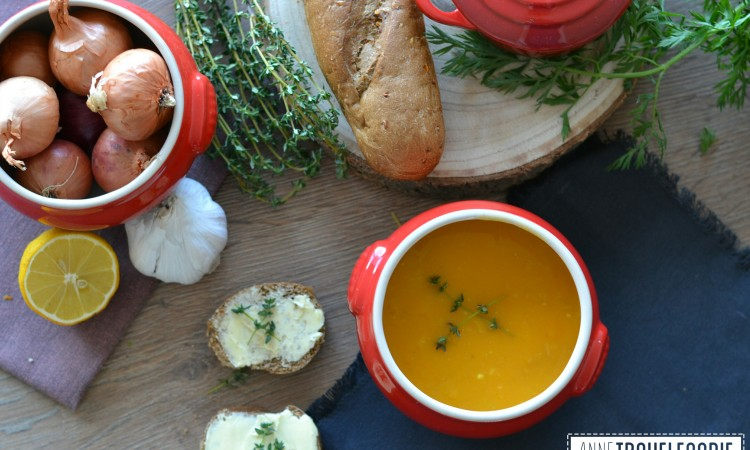 recipe easy vegan pumpkin soup