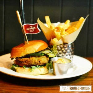 veggie burger hard rock cafe vegetarian awareness month