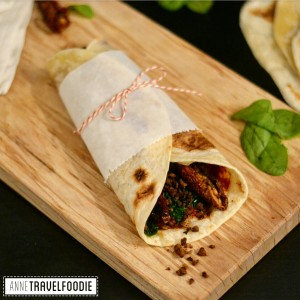 vegan piadina recipe anne travel foodie
