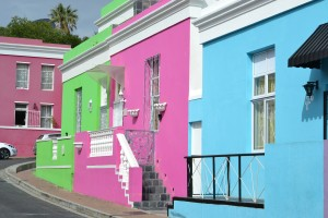 bo kaap colorful houses cape town south africa