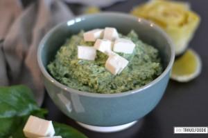 spinach fetta dip