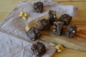 vegan healthy rocky road