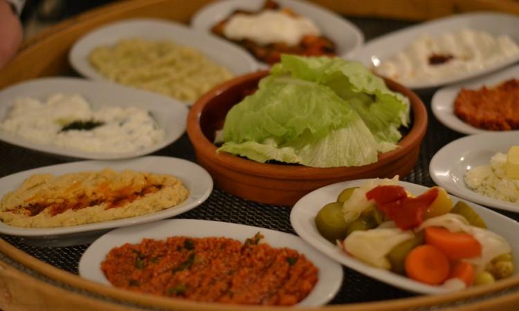 vegetarian starters Ali Ocakbasi Amsterdam