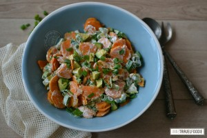 chicks love food healthy sweet potato salad vegan and skinny