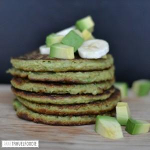 gluten free avocado pancakes
