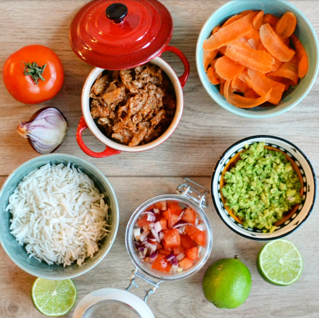 ingredients vegan mexican dinner recipe