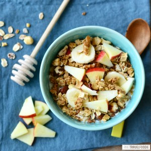 healthy apple granola anne travel foodie