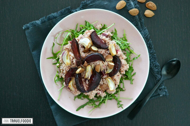 recipe gluten free vegan pink quinoa