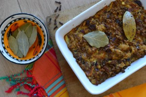 recipe vegetarian bobotie