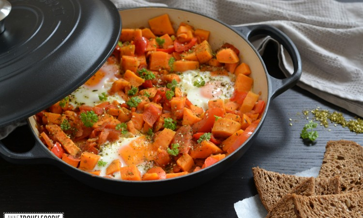 sweet potato shakshuka recipe
