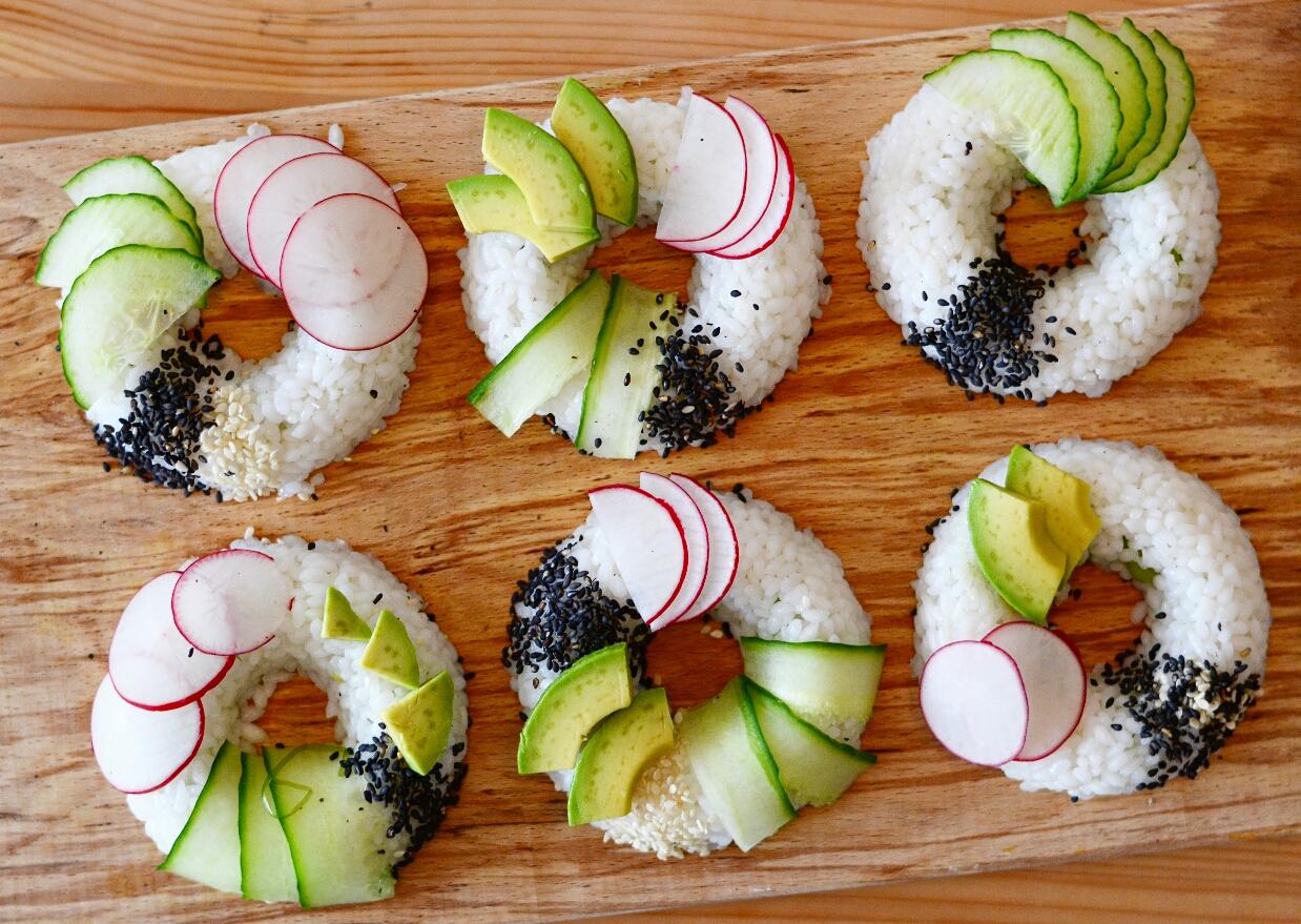 vegan sushi donuts recipe