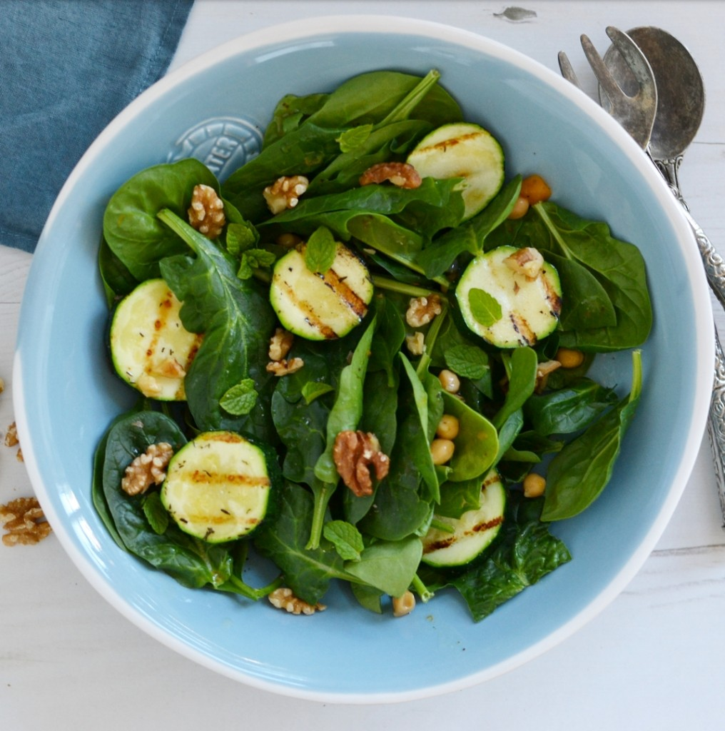 grilled zucchini salad recipe