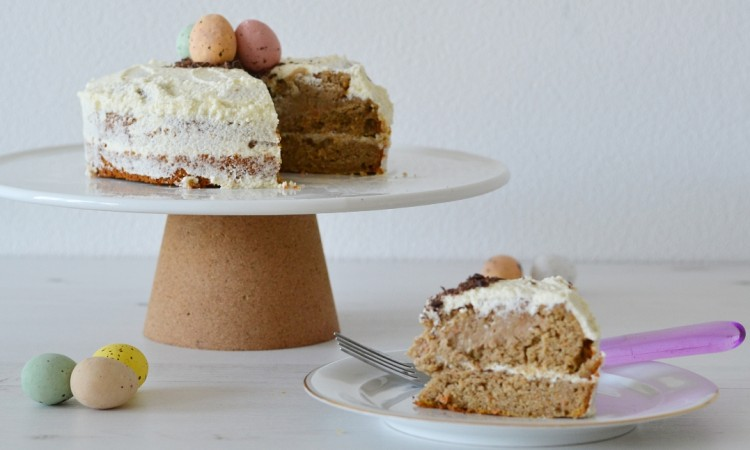 recipe healthy naked cake easter