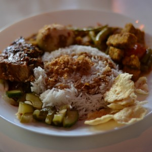 vegetarian indonesian food club boemboe amsterdam