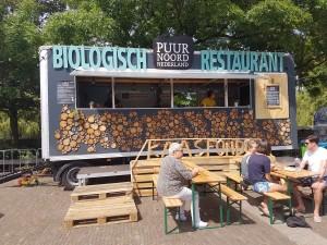 biologische kaasfondue food truck