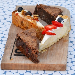 high tea hooi utrecht brownie cheesecake vegan carrotcake
