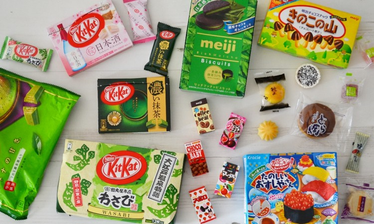 japanese food haul candy