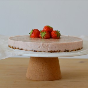 recipe healthy strawberry cake